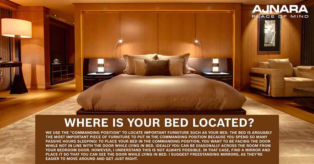 Is your bed in the right location