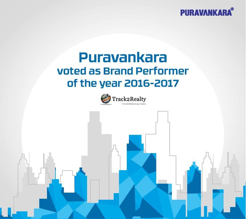 Puravankara emerges as brand performer of the year scaling up from ninth position to fourth position this year Photo