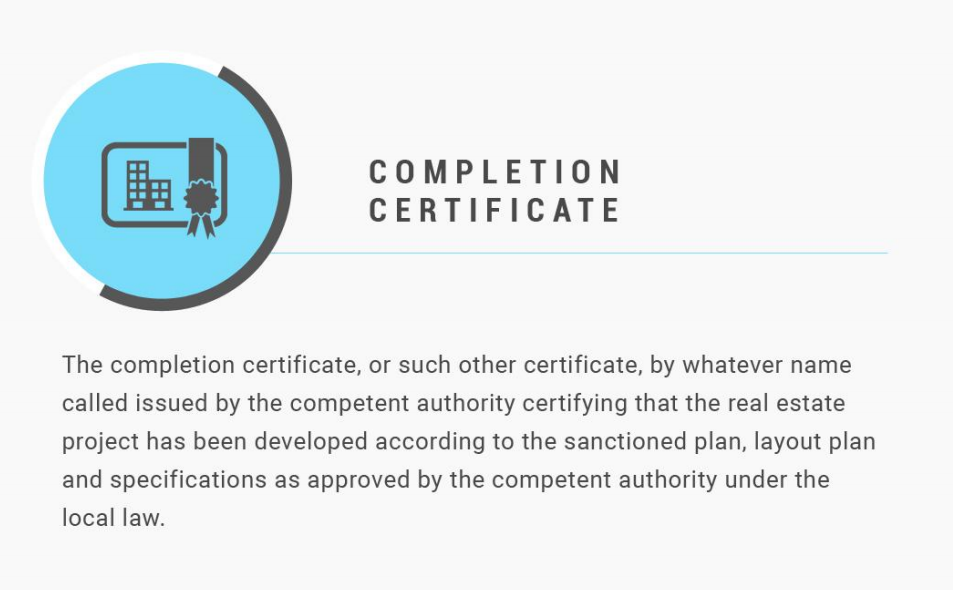 What is Completion Certificate? - Zricks.com