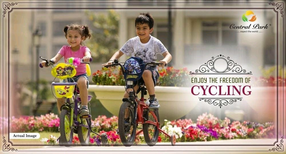 Enjoy the freedom of cycling at Central Park