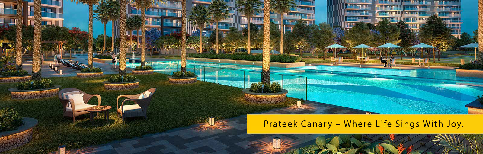 Pay 10 now EMI holiday for 3 years at Prateek Canary Noida Photo
