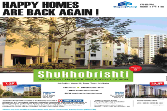 Book home & avail benefits of PMAY at Shapoorji Pallonji Shukhobrishti in Kolkata