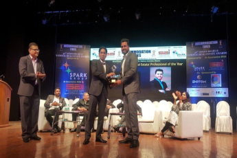 Mr. Siddharth Bhatia of Radius Developers awarded Best Marketer of the Year 2018