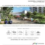 Book 2, 3 and 4 BHK premium homes starting at Rs 99 lakh onwards at Godrej Habitat, Gurgaon