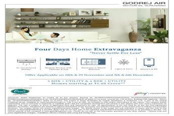 Four days home extravaganza at Godrej Air in Gurgaon