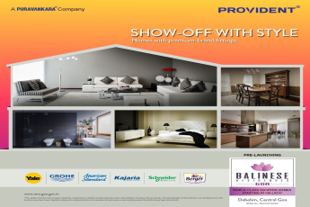 Provident Balinese Residences fitted with accessories from the best brands in the country