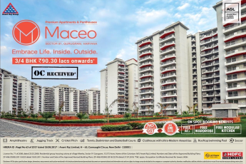 Book 3 and 4 BHK Rs 90 30 Lacs onwards at Anant Raj Maceo Gurgaon
