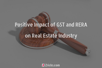 Positive Impact of GST and RERA on Real Estate Industry