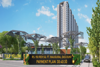 Payment plan 30:40:30 at Tulip Yellow in Sector 69, Gurgaon
