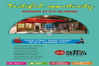 Tasteful opportunity with Spanish style returns at AMB Selfie Street in Gurgaon