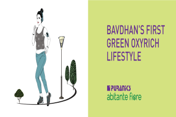 First green oxyrich lifestyle at Puraniks Abitante Fiore, Bavdhan, Pune