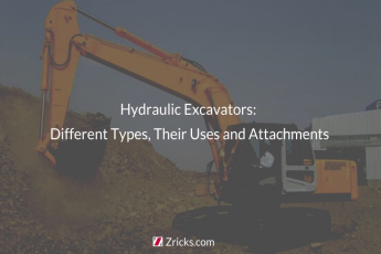 Hydraulic Excavators: Different Types, Their Uses and Attachments