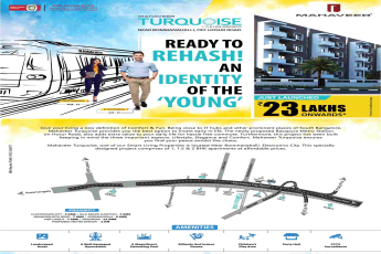 Mahaveer Turquoise - Ready to rehash, an identity of the young in Bangalore