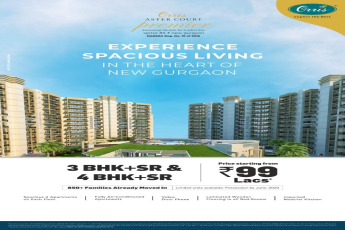 3 BHK starting from Rs 99 lakh at Orris Aster Court in Gurgaon