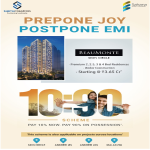 Pay 10% now and pay 90% on possession at Sheth Beaumonte in Mumbai