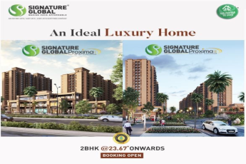 Booking open at Signature Global Proxima in Sector 89, Gurgaon