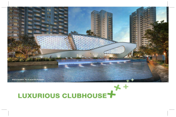 Luxurious clubhouse at Godrej Nature Plus in Sohna