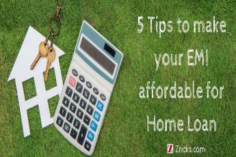 5 Tips to make your EMI affordable for Home Loan