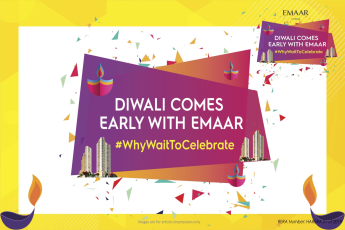 Emaar Digi Homes Offers 30:70 Payment Plan, Diwali Comes Early