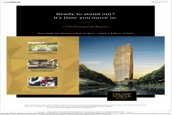 Lodha Trump Tower offers 0% GST in Mumbai