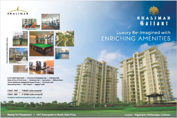 Launching luxury re-imagined with enriching amenities at Shalimar Gallant in Lucknow