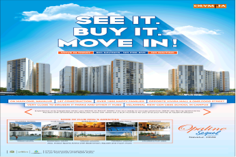 Olympia Opaline Sequel offers move in today big savings no pre EMI no waiting in Chennai