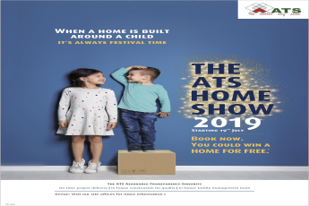 Book now you may win a HOME FOR FREE Offer starting from 19 07 2019