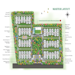 Master layout of Greenmark Mayfair Apartments in Hyderabad