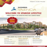 3 BHK luxury villa at Sushma Valencia  Zirakpur, Chandigarh