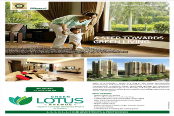 Maya Green Lotus Avenue nearing possession in Zirakpur