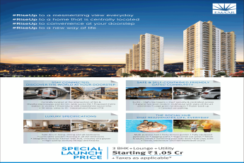 Book luxury specifiaction at Emaar Palm Heights in Gurgaon