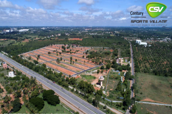 Century Sports Village, Bangalore's first sports-centric plotted development