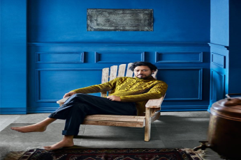 Irrfan Khan's artistic home in Mumbai