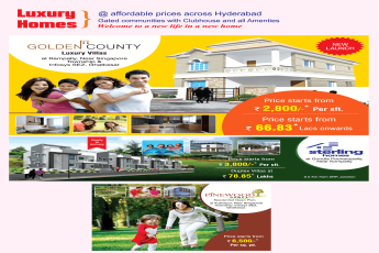 Reside in gated communities with clubhouse and all amenities at Modi Projects in Hyderabad