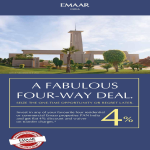 A Fabulous four way deal at Emaar India Projects