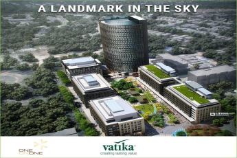 Vatika One on One soaring 100 m into the sky in Gurgaon