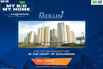 Now get a chance to buy a home at your own desired price in M3M Merlin, Gurgaon
