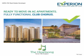 Experience fully functional club chorus at Experion The Heartsong in Gurgaon