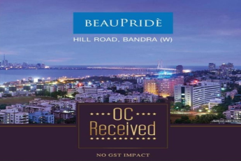 Sheth BeauPride offers NO GST Homes with OC Received in Bandra West, Hill Road, Mumbai
