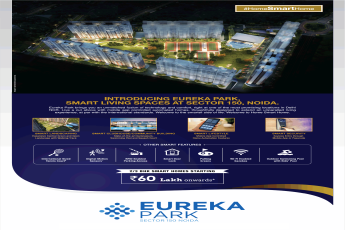 Book 2 and 3 BHK smart homes Rs 60 lakh at Tata Eureka Park, Noida