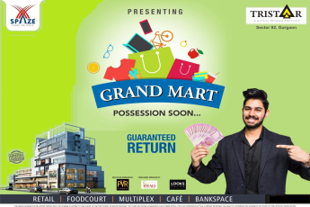 Grand mart possession soon at Spaze Tristaar, Gurgaon