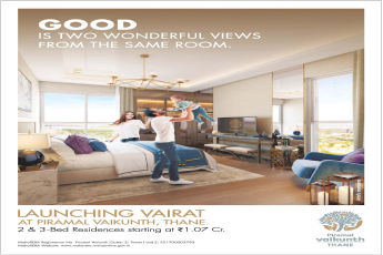 Avail 2 & 3 Bed Residences @ Rs 1.07 Cr. at Piramal Vaikunth in Mumbai