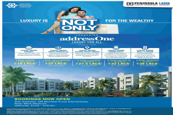 Peninsula Land launching Peninsula Address One in Pune
