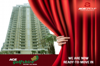 Ace Golfshire is now ready to move, Noida