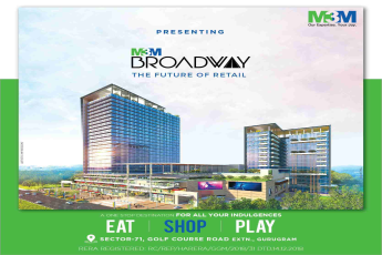 M3M Broadway - One stop destination for F&B, Retail & Entertainment in Gurugram