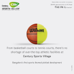 Bangalore's first sports themed plotted development at Century Sports Village