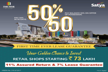 11 Assured Rental 7 Lease Guarantee on Retail Shops on Dwarka Expressway Gurgaon