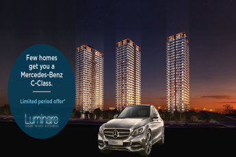 Buy Mahindra Luminare to Get Mercedes Benz C Class