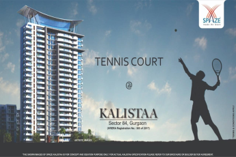 Book apartments at Spaze Kalistaa in Gurgaon