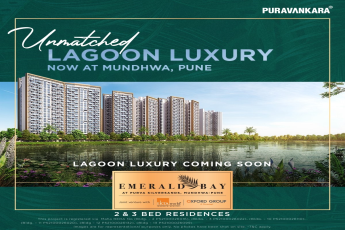 Launching Emerald Bay at Purva Silver Sands in Mundhwa, Pune